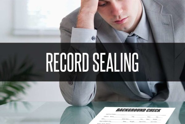 record sealing banner